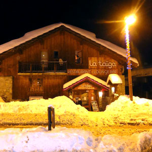 restaurant meribel